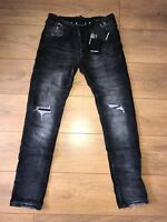 DSQ2 - DSQUARED JEANS SLIM FIT  - NEW BLACK COOL STUD     ** SEE SIZES
