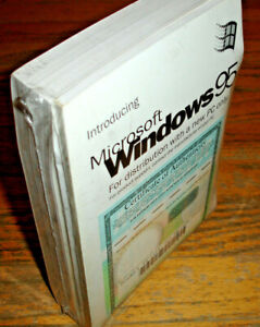 Windows 95 CD with COA +Guide, also Windows For Workgroups + COA & MS-Dos +Guide
