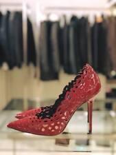 TWIN SET Simona Barbieri Decoltè Vernice rossa  100% Pelle Tacco Stiletto 10 cm