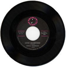 "IRMA THOMAS  ""HITTIN' ON NOTHING""   EARLY 60's R&B CLASSIC"
