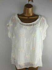 Silk Short Sleeve Blouses for Women