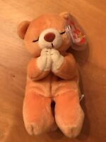 1998 Ty Original Beanie Baby Babies HOPE The Praying Bear MWMT