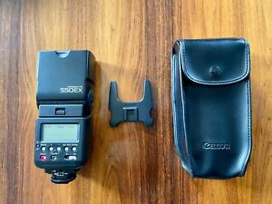 Canon Speedlite 550EX Shoe Mount Flash for Canon Cameras