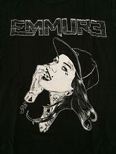 Emmure T Shirt L Large Tattooed woman Dreams 2013 teardrops hardcore