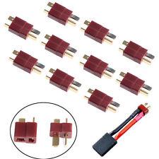 10Pairs/set T Plug Male & Female Deans Connectors For DIY RC LiPo Batter TDC