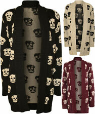 Long Sleeve Skull Regular Size Jumpers & Cardigans for Women
