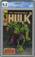 1968 Incredible Hulk 105 CGC 9.2 1st Missing Link