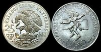 1 - Mexico 25 Pesos Olympic Coins .720 Silver .5208 OzT Each Coin Uncirculated.