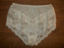 Vintage 1980s St Michael Stretchy Nylon Lacy Full Panties Knickers UK20 (X/L)