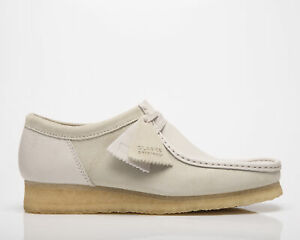 Clarks Originals Wallabee 2 CLR Men's White Combination Casual Lifestyle Shoes