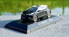 1:43 TOYOTA C-HR CHR black/white color model