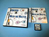 Mechanic Master Nintendo DS Lite DSi XL 3DS 2DS Game w/Case & Manual