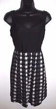 BeBop Size Large Womens Sleeveless Black and Print Dress