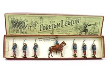 W Britain Toy Soldiers No 1711 The French Foreign Legion With Mounted Officer
