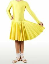 NDCA USAD Regulation Strict Competition Ballroom Latin Dance Dress for Girls 5-9