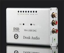 Douk Audio Mini DSD1796+XMOS-U8 USB DAC 384K/32bit Audio Decoder Headphone Amp