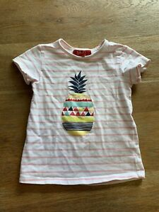 Sprout Girls Casual Tshirt Top Pineapple Size 2 Worn Once Baby Girl