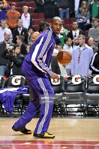 Kobe Bryant (2009-2010 Finals Year) Los Angeles Lakers Game-Worn Warm-Up Pants