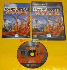 THEME PARK WORLD Ps2 Versione Inglese »»»»» COMPLETO
