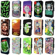 RICK AND MORTY TV SHOW AMAZING FLIP PHONE CASE COVER for iPHONE 4 5 6 7 8 X