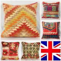 Kilim Cushion Cover 65x65cm 26x26in Old Vintage Antique Kelim pillow Boho Chic