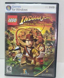 LEGO PC DVD ROM INDIANA JONES The ORIGINAL ADVENTURES for Windows LUCASARTS