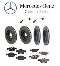 For Mercedes Benz X164 GL450 07-12 Front+Rear Rotors w/ Pads Sensors Brake Kit
