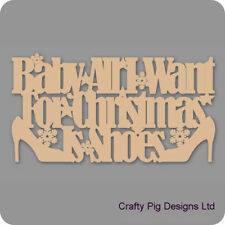 Christmas Baby Decorative Indoor Signs/Plaques