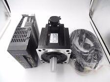 2KW AC Servo Motor 7.7Nm 2500rpm& Motor Driver Controller CNC Kit & 3M Cable Kit