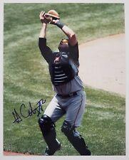 Hank Conger Signed 8x10 Photo MLB Pittsburgh Pirates Catcher RAD