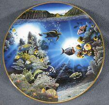 Serenity Of Waipio Collector Plate Underwater Paradise 1991 Robert Lyn Nelson