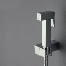 Bathroom Toilet Brass Handheld Bidet Shower Shattaf Sprayer Brass Wall Bracket