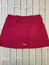 New listing lands end mini swim skirt womens size 4 cerise pink