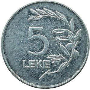 2000 ALBANIA 5 LEKE     #WT26772