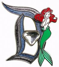 2015 Disney 60th Pin of the Month Diamond D Ariel LE-3000 Pin Rare W2
