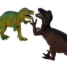 "Boley Tmo4 Dinosaurs Deinonychus Allosaurus Figures 5"" Plastic Lot of 2 Toys"