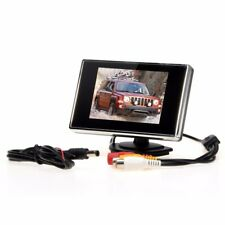 "3.5"" LCD TFT Color Screen Video Monitor DVD Car Rear View Backup Parking Camera"