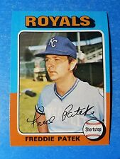 1975 TOPPS BASEBALL  #48 FREDDIE PATEK NMMT check out my 100s of vintage cards