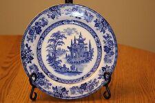 Doulton Burslem Flow Blue Dinner Plate