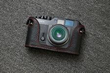 Genuine Leather Half Case Cover For Voigtlander Bessa R Camera Protector
