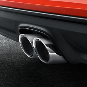 Porsche Tequipment 718 Boxster /  Cayman Sport Tailpipes- Silver