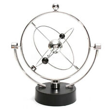 Kinetic Orbital Revolving Gadget Perpetual Motion Desk Art Toy Office Decor Y7D4