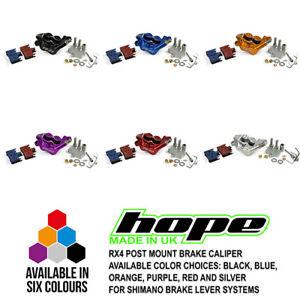 Hope RX4 Road Gravel Hydraulic Brake - Post Mount Caliper - Shimano / SRAM - New