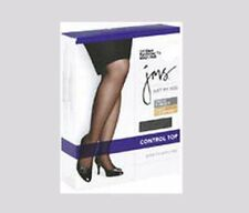 JMS JUST MY SIZE PANTYHOSE SIZE 3X SUNTAN SHEER TOE CONTROL TOP FREE USA SHIP