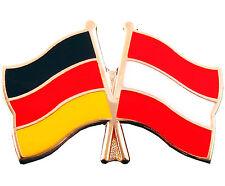 Freundschaftspin Deutschland und Österreich Anstecker Anstecknadel Fahne Doppelp