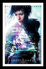SCARLETT JOHANSSON AUTOGRAPHED SIGNED FRAMED PP POSTER PHOTO