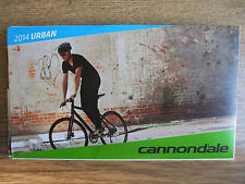 Brand New ~ CANNONDALE 2014 Fold Out femme Urban Kids & Accessoires Catalogue