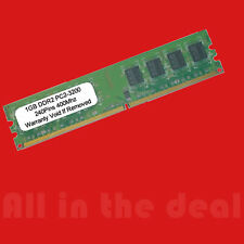 1GB DDR2 400 PC2-3200 240pin Desktop Memory RAM DDR2-400MHz 240-pin DIMM