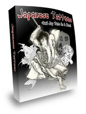 ULTIMATE JAPANESE ART DESIGNS TATTOOS -PRINTABLE IMAGES - eBook PDF Files on CD