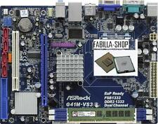 CPU PROCESSORE INTEL CORE DUO 2 E6550 + SCHEDA MADRE G41 + 2GB RAM DDR3 1333MHZ